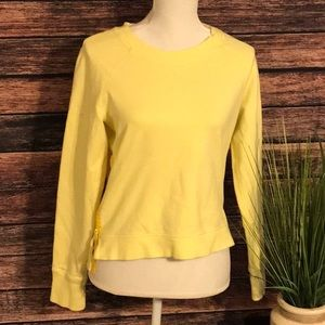 Lululemon yellow sweater